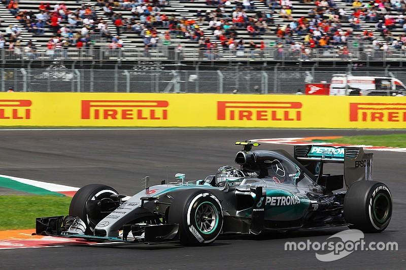 Messico, Q1: Rosberg di un soffio su Vettel