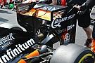 Force India: nuova ala posteriore e pance più lunghe