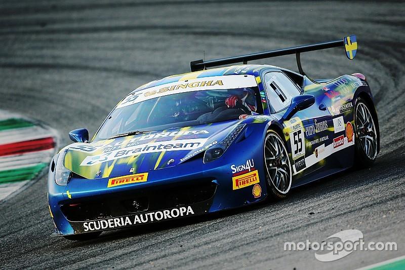 Santoponte edges out Caso for Trofeo Pirelli pole