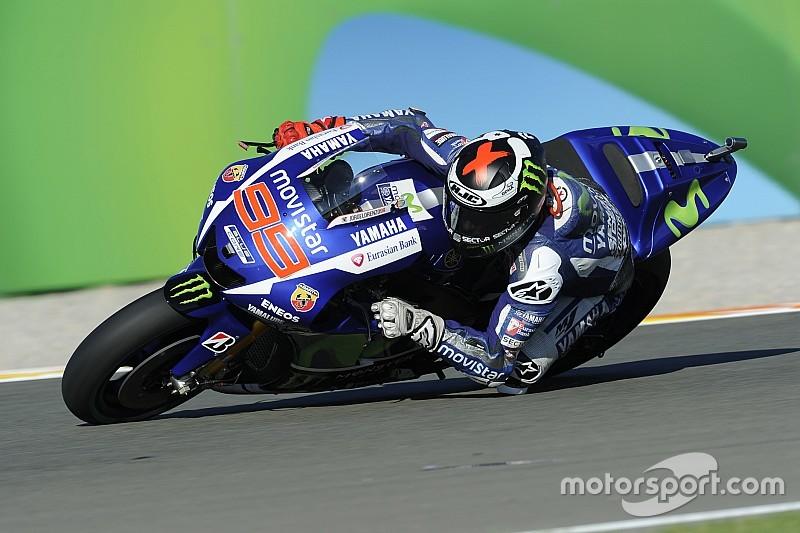 Lorenzo manda en la práctica 2 y Rossi es cuarto