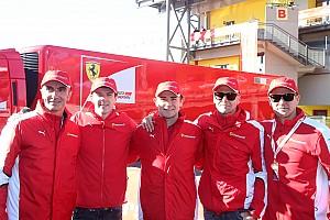 Ferrari Interview Ferrari GT - La Scuderia et rien d'autre pour Bertolini, Bruni et Rigon