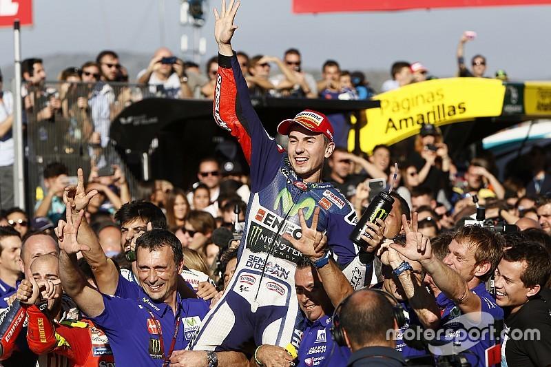 """Jorge Lorenzo - """"Quintuple Champion du Monde, c'est incroyable!"""""""
