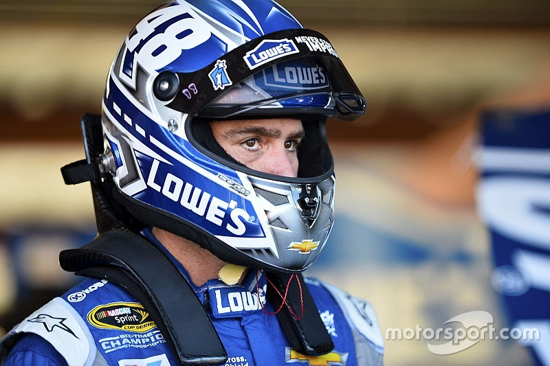 Jimmie Johnson leads first practice at PIR