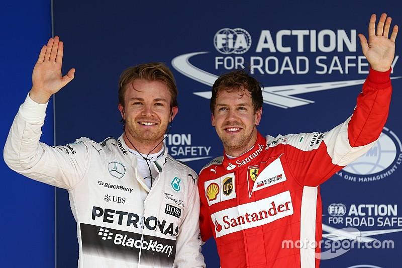 Rosberg logra su quinta pole consecutiva