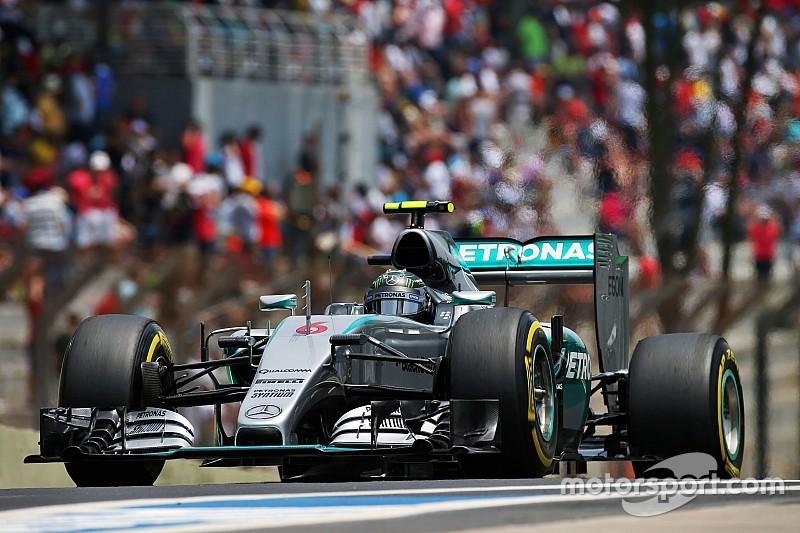 """Rosberg sterk op Interlagos: """"Ik ben hier om te winnen"""""""