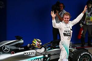 Formule 1 Résumé de course Rosberg -
