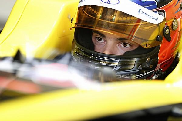 Исаакян дебютировал в GP3 с шестым временем
