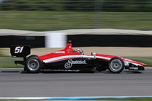 Indy Lights Testing report Blackstock staying at Andretti Autosport, leads opening Lights test