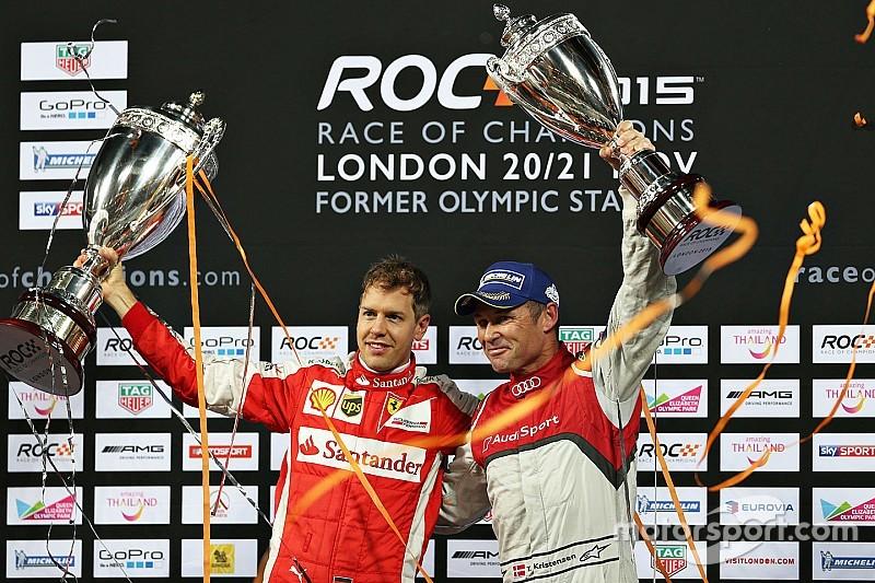 Vettel ganó la Carrera de Campeones