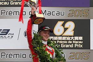 Ф3 Отчет о гонке Розенквист выиграл Гран При Макао