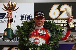 F3 Crónica de Carrera Rosenqvist logra su segundo triunfo en Macao