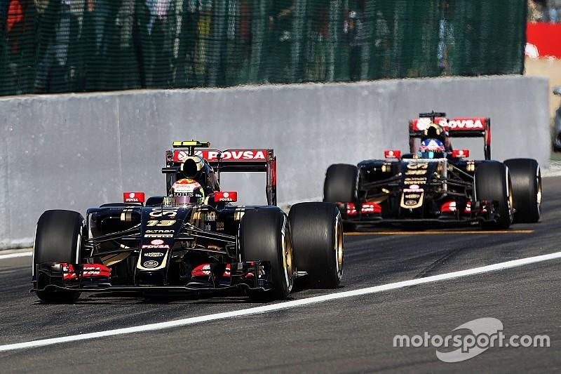 Maldonado não se imagina como piloto principal da Lotus