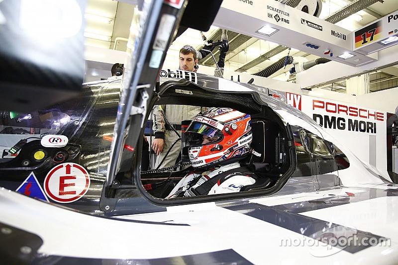 Evans aast op zitje van Hülkenberg bij Porsche