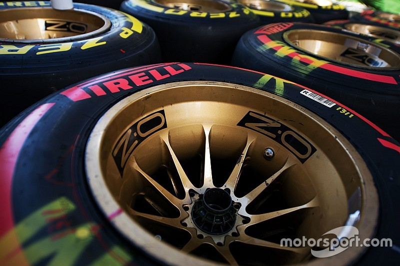 Pirelli's ultra zachte band alleen op stratencircuits