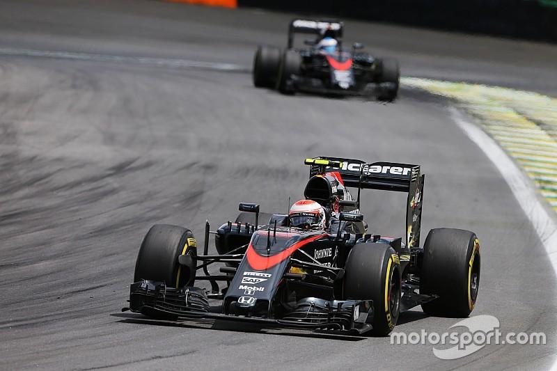 """Button blij met Alonso als teamgenoot: """"In ieder geval nog één gevecht"""""""