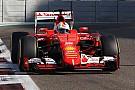 Vettel acepta que Mercedes es más rápido en Yas Marina
