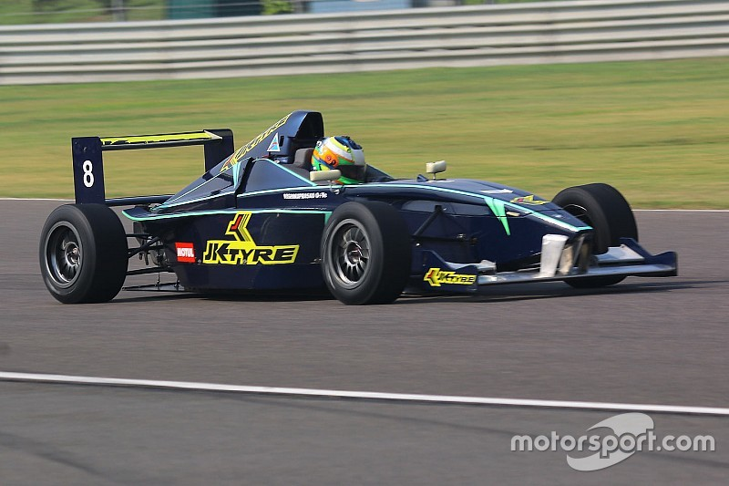 Prasad wins final race, becomes three-time JK Racing champion
