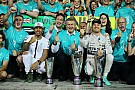 Rosberg and Hamilton wrap up the 2015 season in style at the Abu Dhabi GP