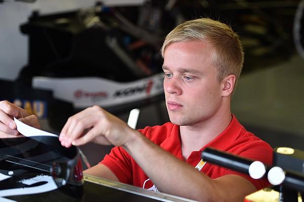 Rosenqvist joins Status for GP2 test