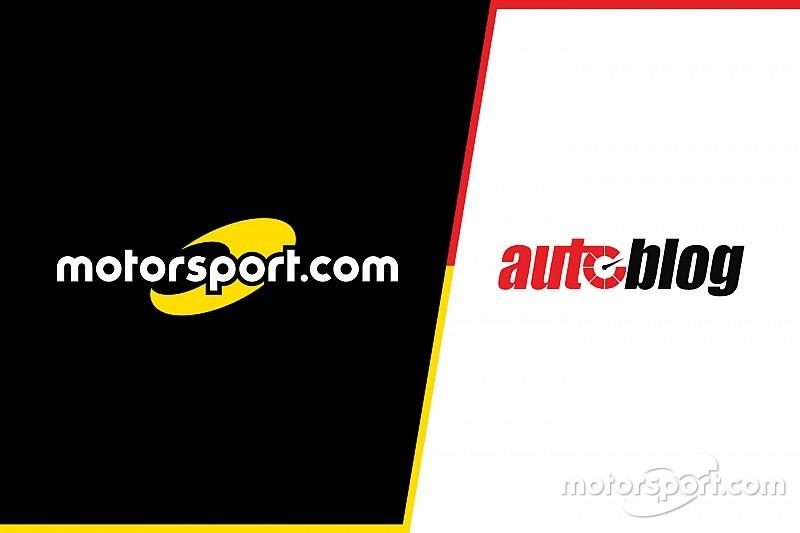 Motorsport.com和AOL旗下的Autoblog.com 共同宣布达成全球数字内容合作伙伴关系