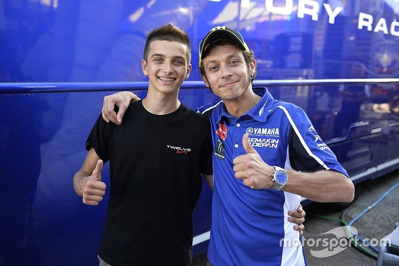 El hermano de Valentino Rossi correrá en Moto2
