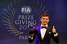 Verstappen sbanca il FIA Prize Giving
