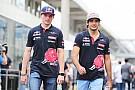 Toro Rosso da un gran valor al trabajo de Verstappen y Sainz