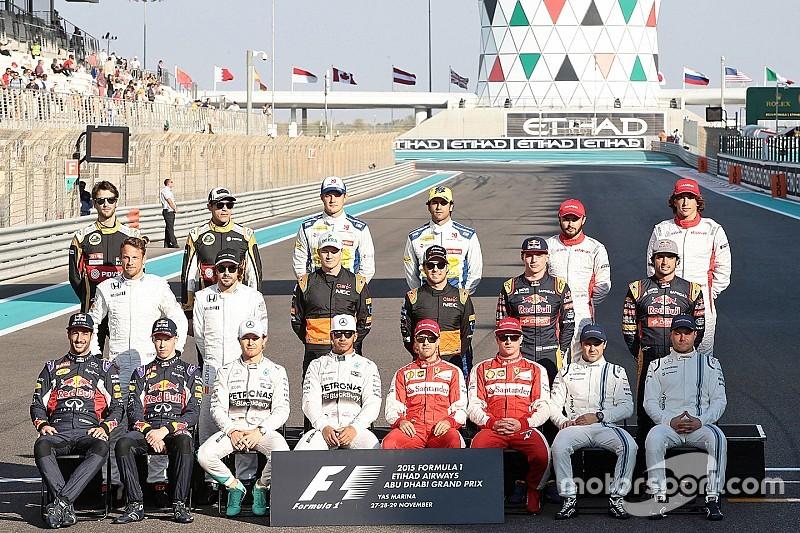 Le grand bilan 2015 des pilotes F1