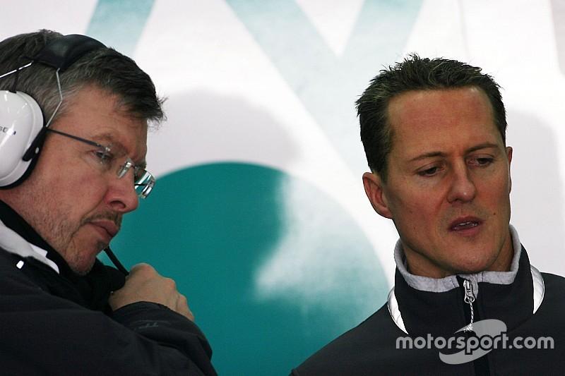 Schumacher fue fundamental para el éxito de Mercedes, dice Brawn