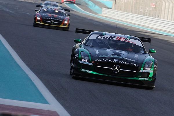 Black Falcon GT at Hankook 24 Hours Dubai