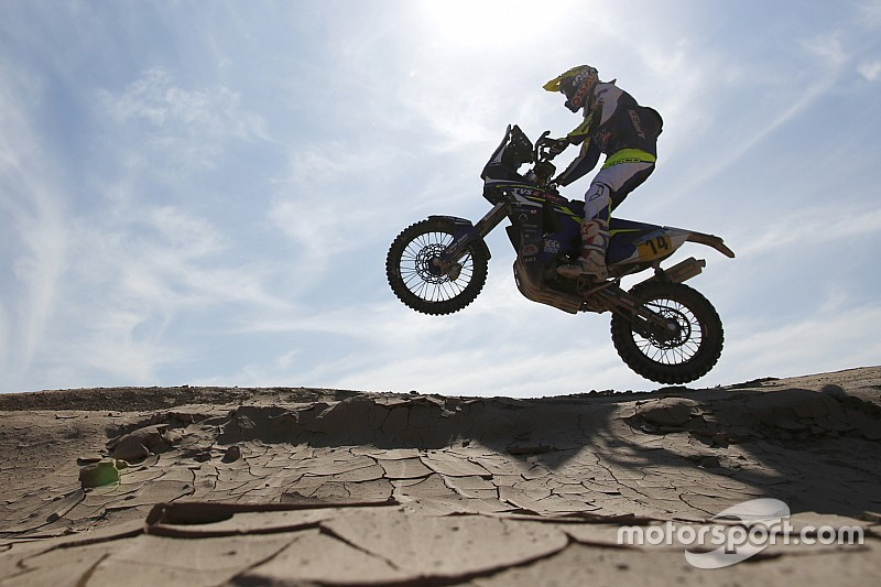 Santosh, Sherco TVS riders complete Dakar prologue