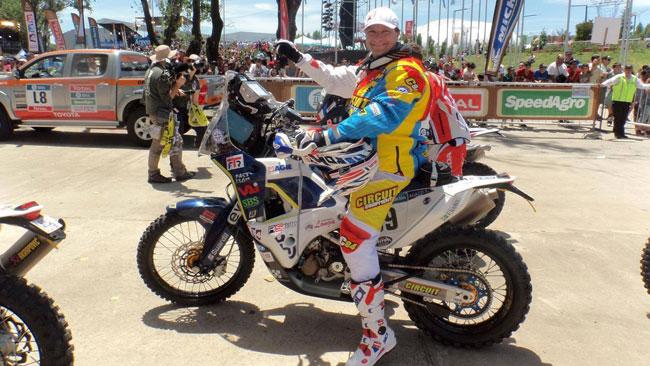 Dakar, Simone Agazzi deve essere operato alla spalla