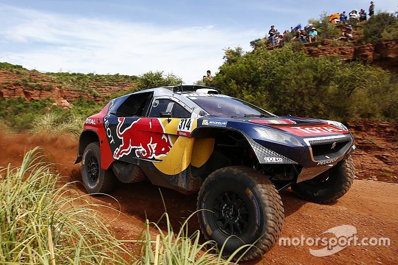 """Shocked Loeb """"didn't expect"""" Dakar Rally lead"""
