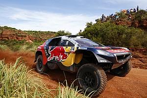 Dakar Diaporama Photos - Les débuts tonitruants de Loeb et Elena sur le Dakar