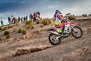 Dakar Interview Barreda's challenge in ruins after dropping five hours