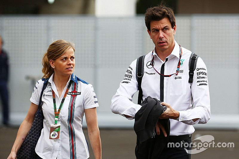 La F1 perdió la opción  de Susie Wolff,  asegura Toto Wolff
