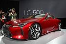 Lexus dynamite Detroit avec la LC 500 et ses 467 cv