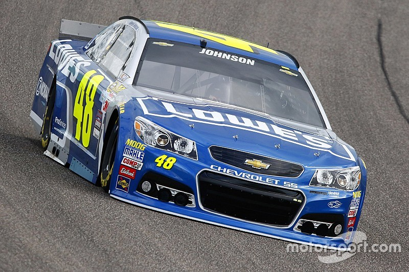 Jimmie Johnson nach den ersten Tests: