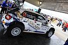 Max Rendina al Rally di Svezia con una Fiesta R5