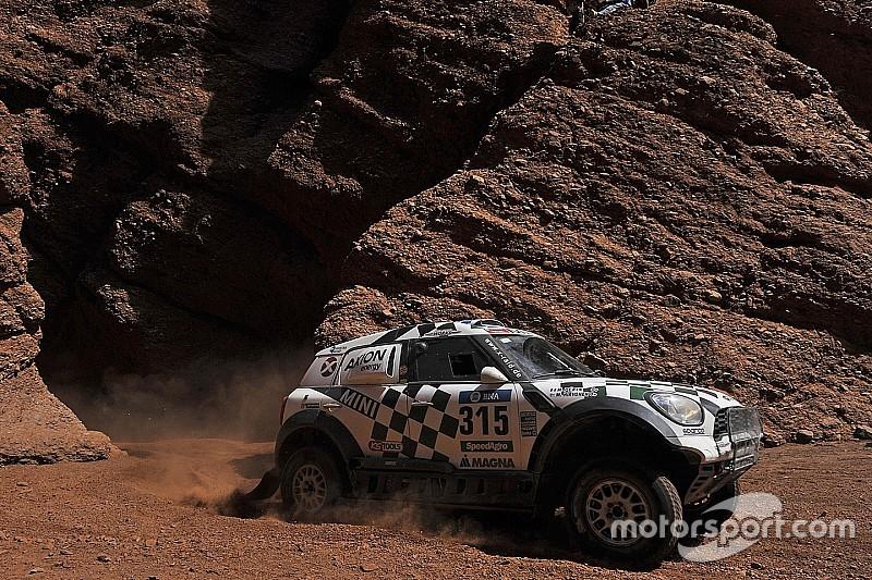 Hirvonen doubts he can catch De Villiers for Dakar podium