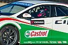 Stéphane Kox prova la Honda Civic TCR