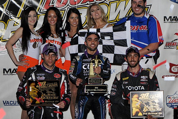 Midget Rico Abreu goes back-to-back in Chili Bowl Nationals