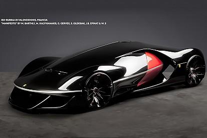 Ferrari dévoile le vainqueur de son concours de design futuriste