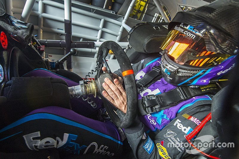 """Hamlin hopes to extend JGR contract and win """"multiple championships"""""""