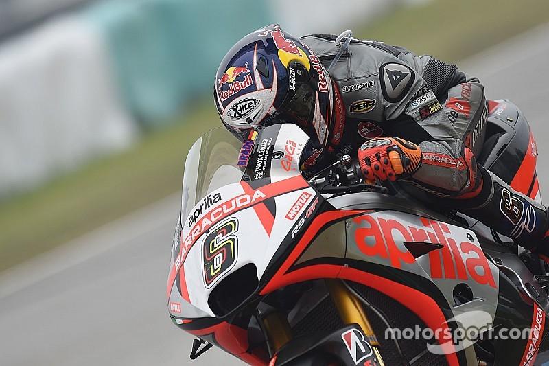 Aprilia не привезет новый мотоцикл на первые тесты