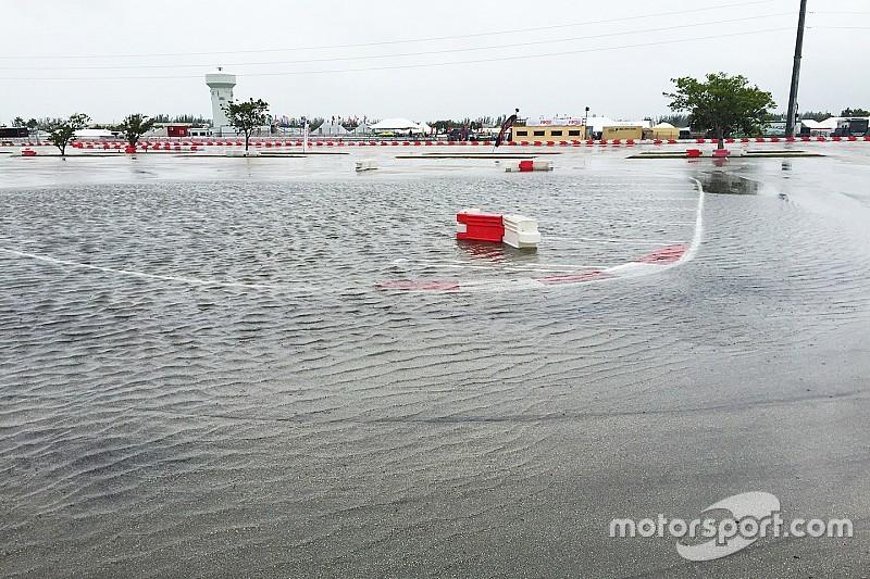 Rain halts Florida Winter Tour