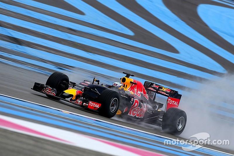 Ricciardo lidera 1º dia de teste da F1 com pneus de chuva
