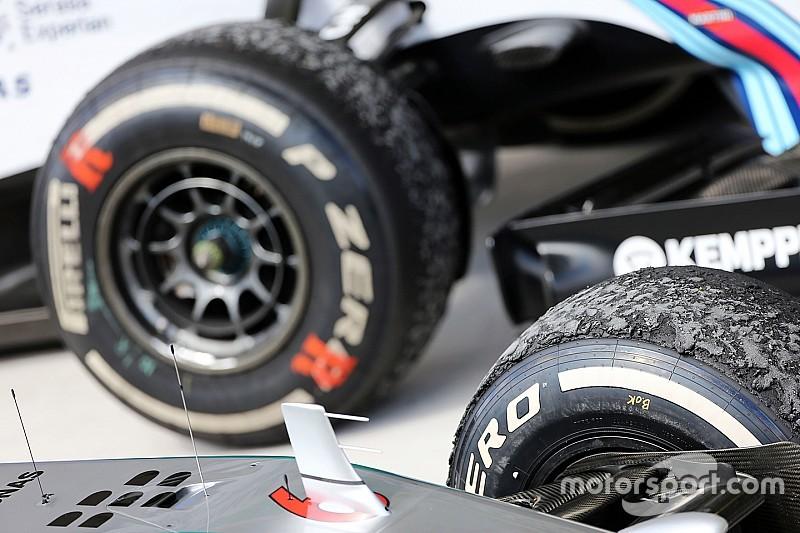 Ecclestone apoya que haya cambios en los neumáticos de la F1