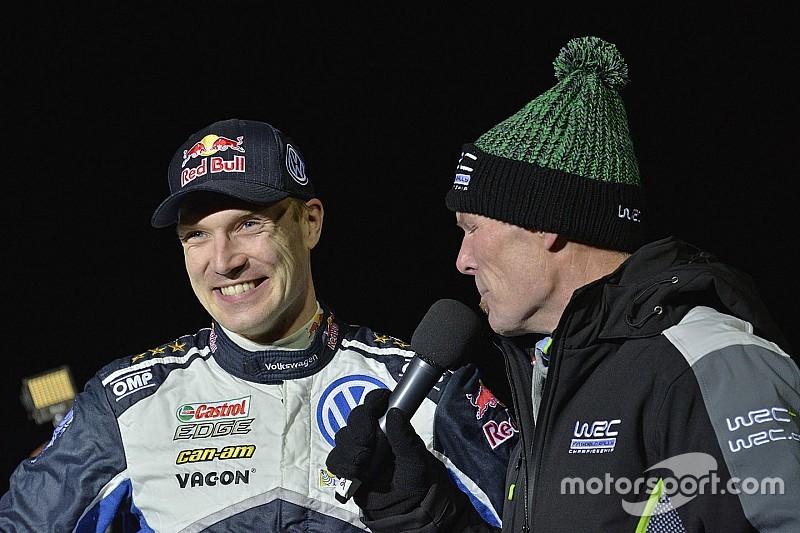 WRC Zweden: Latvala wint sprint stage in Karlstad