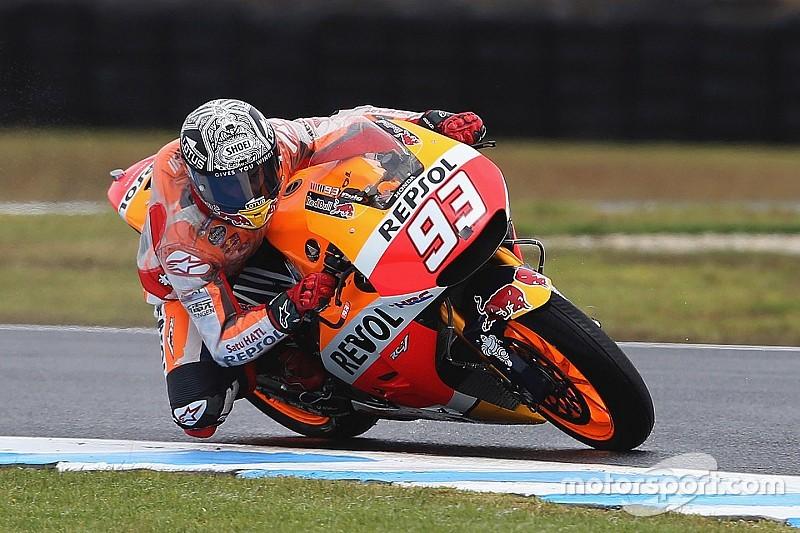 """Apesar de """"grande avanço"""" da Honda, Marquez segue cauteloso"""